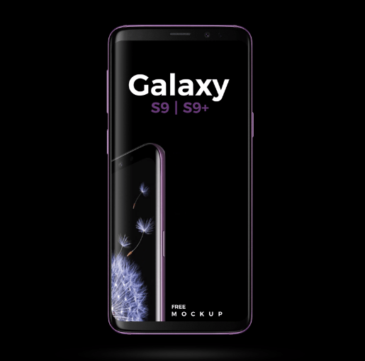 Free Samsung Galaxy S9 & S9+ Mockup