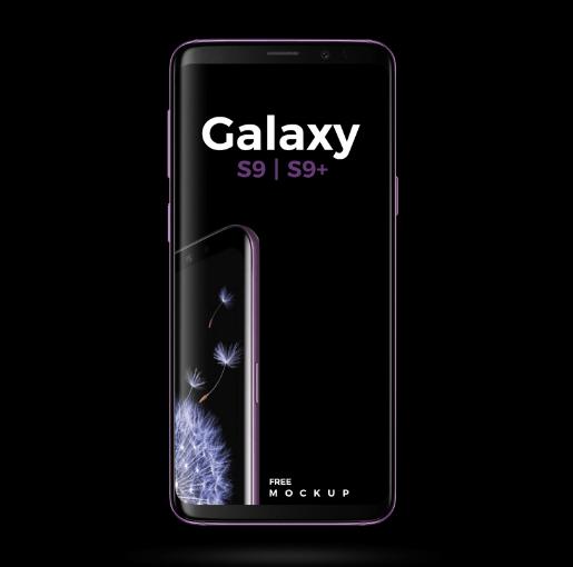 Dark Samsung Galaxy S9