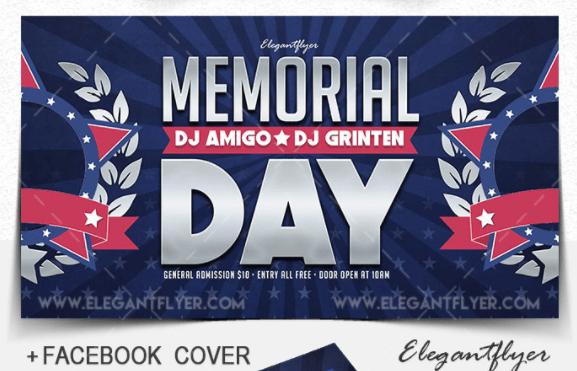 Memorial Day Facebook Cover