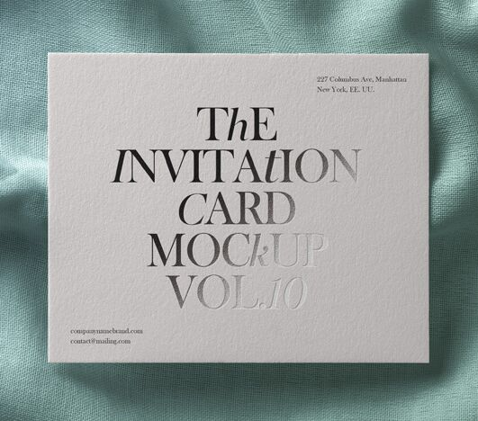 25 best free greeting invitation card mockups for graphic psd invitation card mockup vol10 stopboris Images