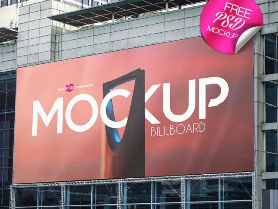 FREE BILLBOARD MOCK-UPS IN PSD