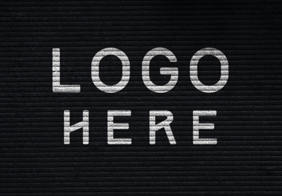 Frame logo mockup