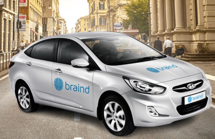Hyundai Solaris - Free PSD MockUp