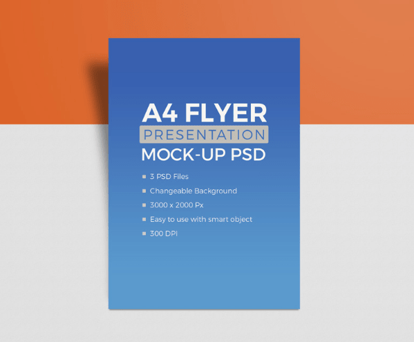 3 High-Quality A4 Size Paper Flyer Mockups-min