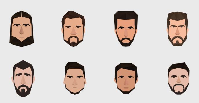 8 Men Avatars-min