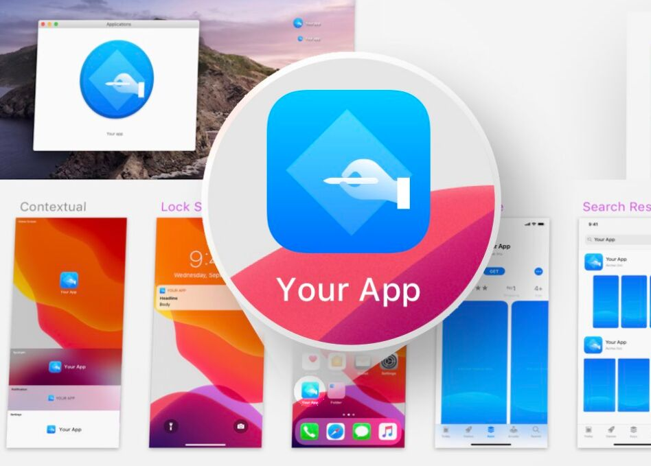 25+ Best iOS App Icon Templates To Create Your Own App Icon