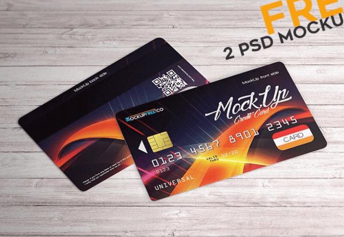 20 Best Realistic Credit Debit Card Mockups Updated For 2020