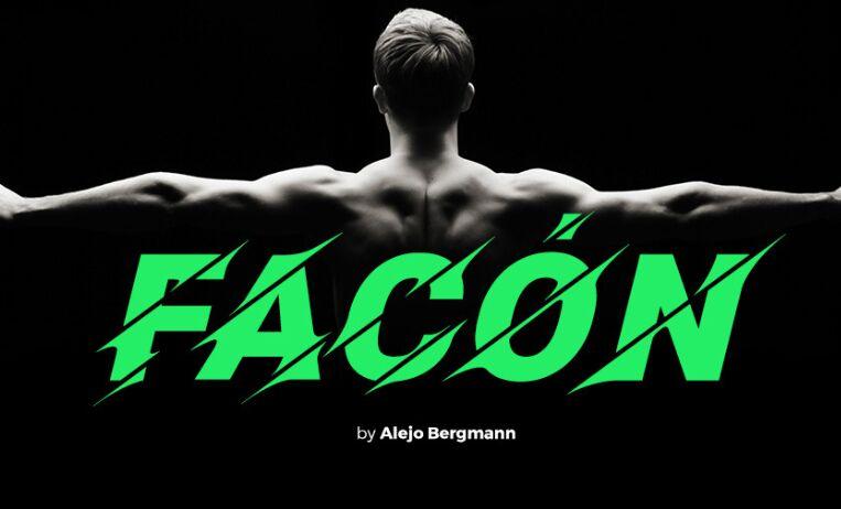 Facón Free Font-min