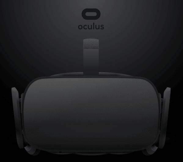 Oculus headset Sketch Mockup