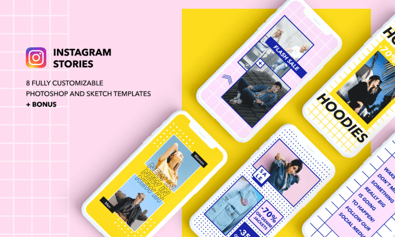 8 Instagram Templates