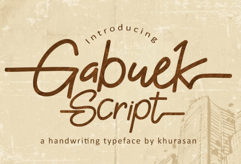 Gabuek Script