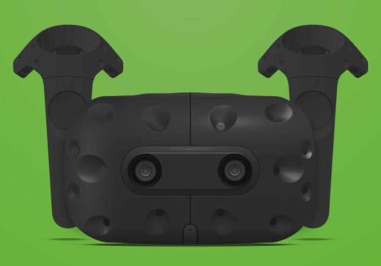 HTC Vive in Sketch