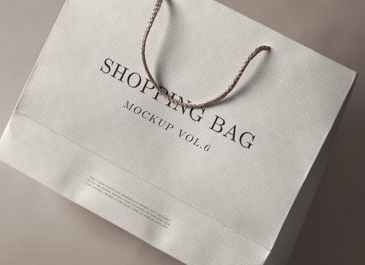 Psd Shopping Bag Mockup Vol 6