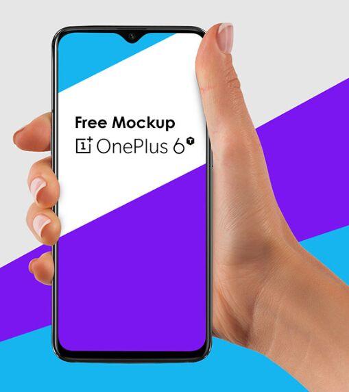 Free Mockup OnePlus 6T