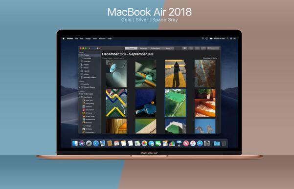 MacBook Air 2018 Mockup
