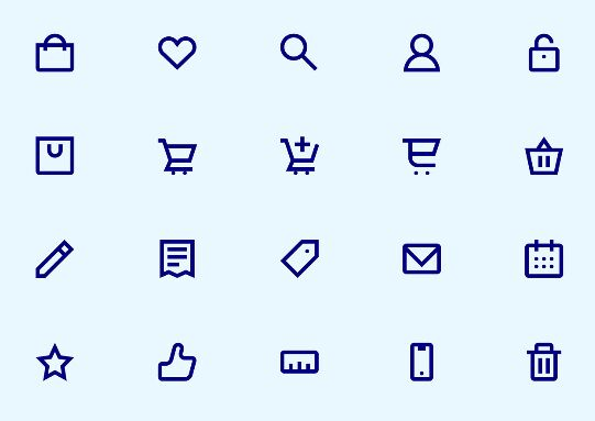 Shopicons Free E-Commerce Icon Set