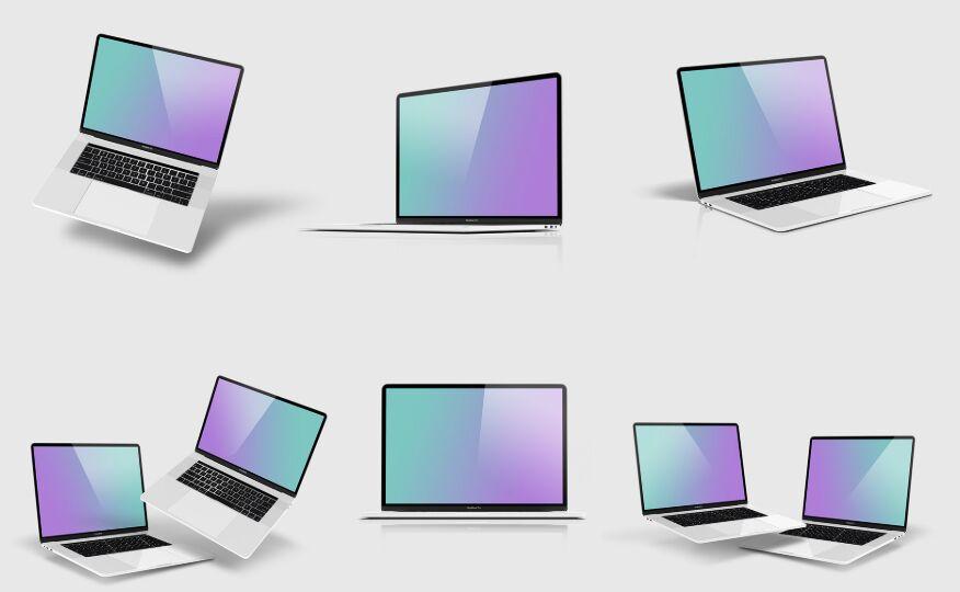 Free Macbook Pro 15 Mockup