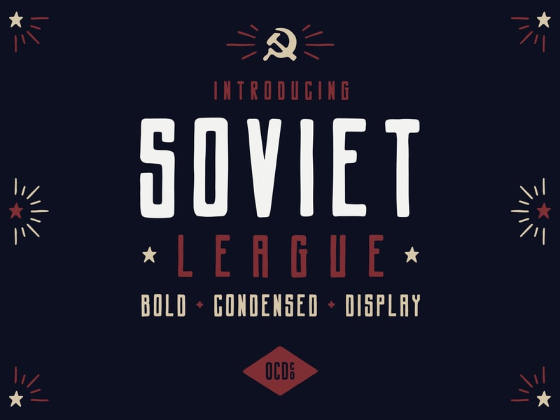 Soviet League Font