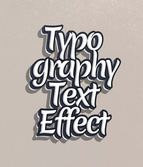 Typography PSD Text Effect
