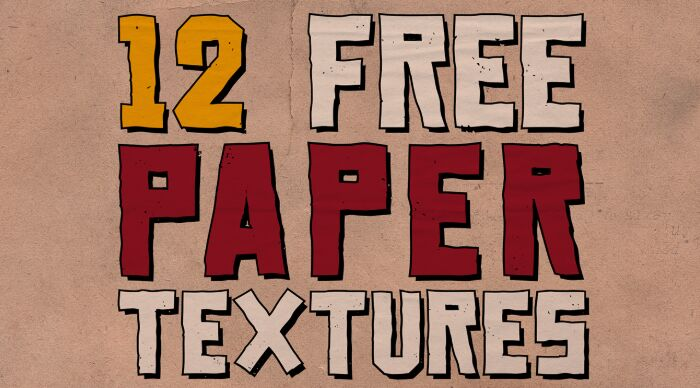 12 Free Paper Textures
