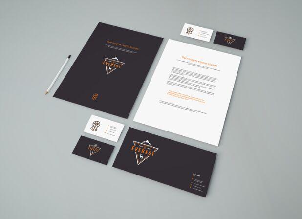 Simple Stationery PSD Mockup