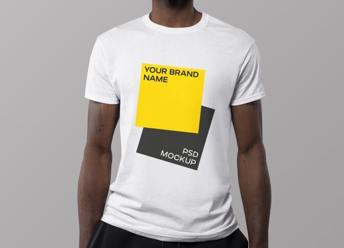 Photo realistic T-Shirt Mockup