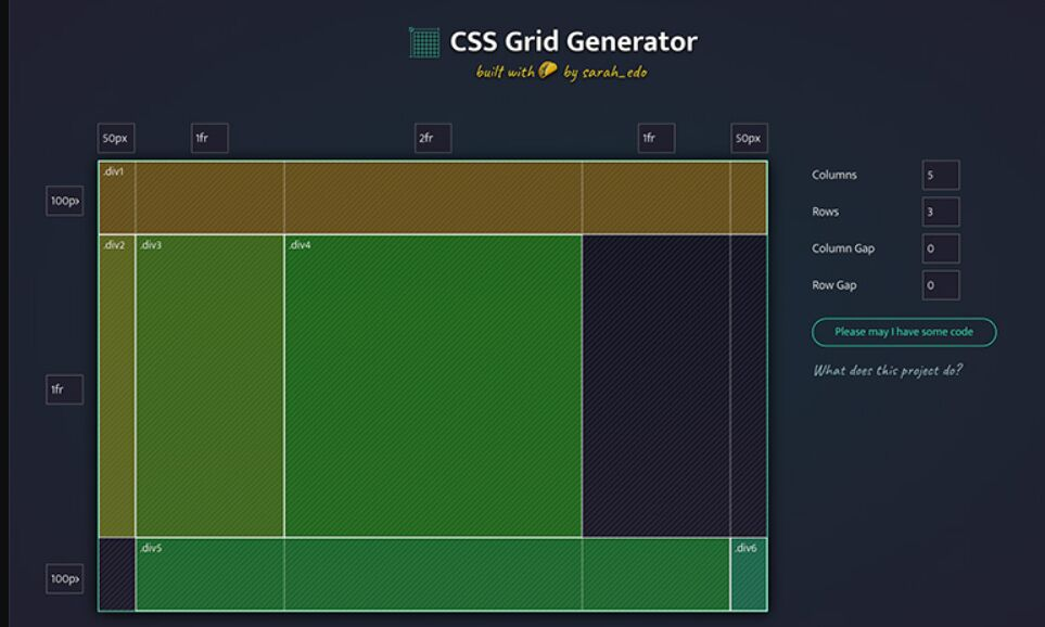 CSS-Grid-Generator