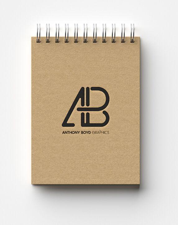 Modern Notebook Mockup