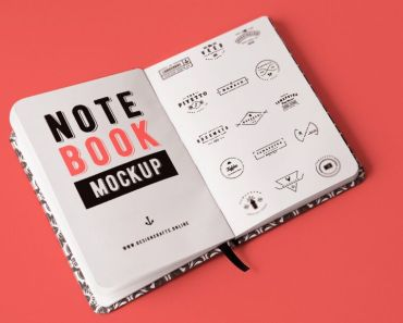 Open Notebook Mockup