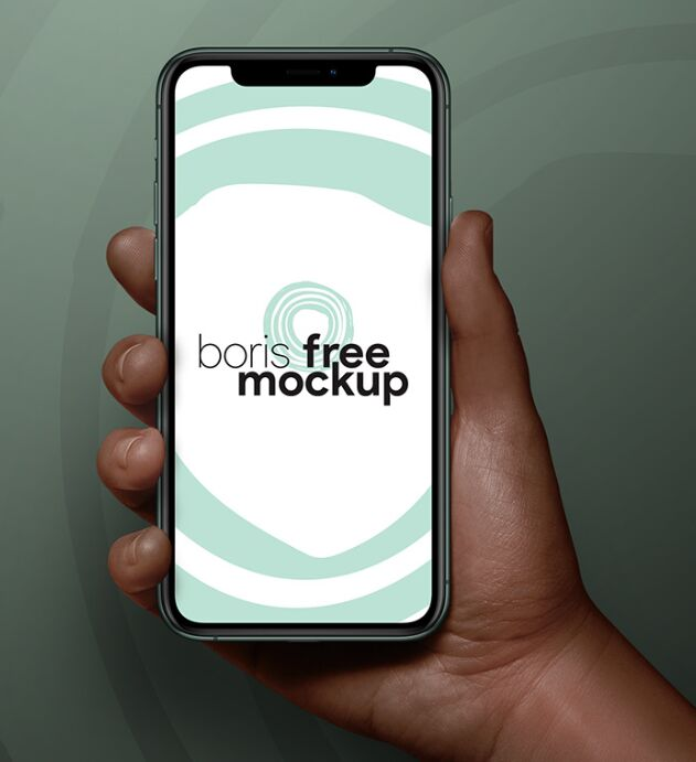 iPhone 11 Pro Max In Hands Mockup