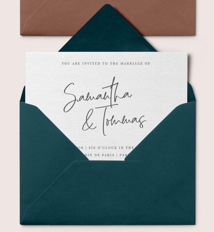 Stylish Envelopes Mockup