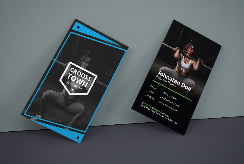 Creative Gym Business Card