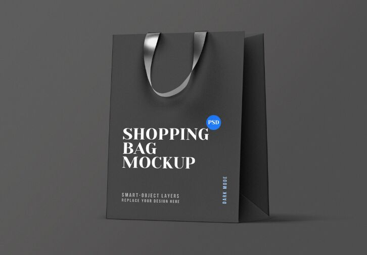 Download Shopping Bag Mockup Graphicburger Yellowimages