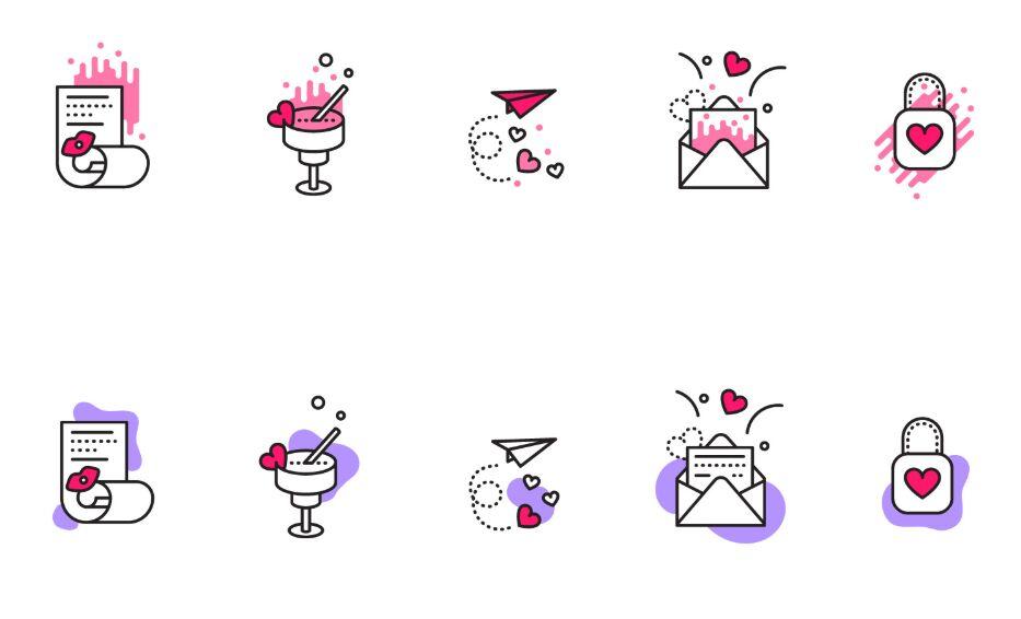 10 Valentine's Icons