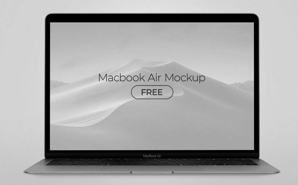MacBook Air 2020 Mockup PSD