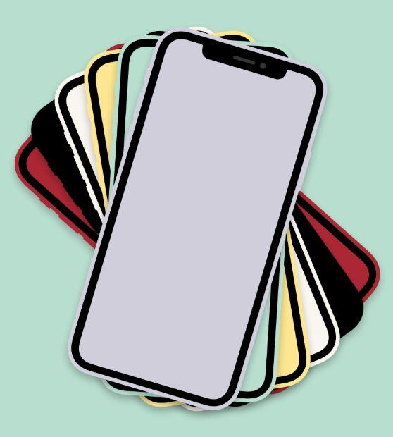 iPhone 11 Flat Figma Mockup