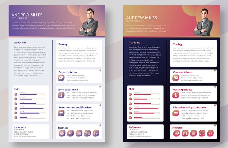 130  best resume    cv templates for free download  2020