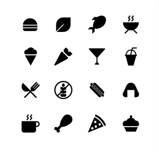 Animated Food Icons
