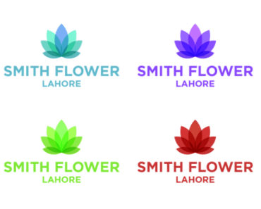 Creative Flower Logo Template For Adobe Illustrator