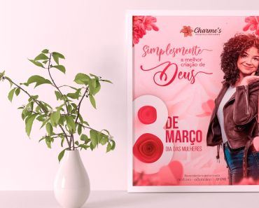 Creative Women's Day Flyer Mockup (PSD)