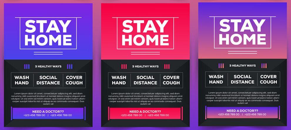 Coronavirus Flyer Template Free Download