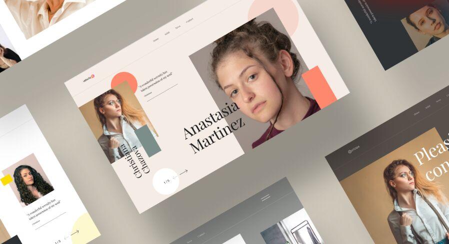 Fashion Web Header Banner Template