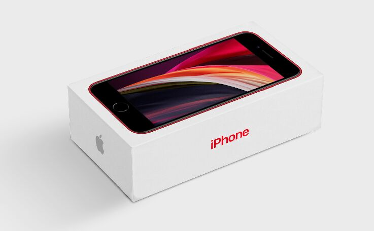 iPhone Packaging Mockup