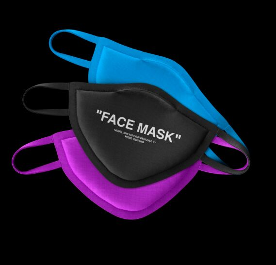 Free Mask Mockup