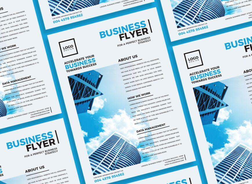 Free Modern Business Flyer Design of 2020
