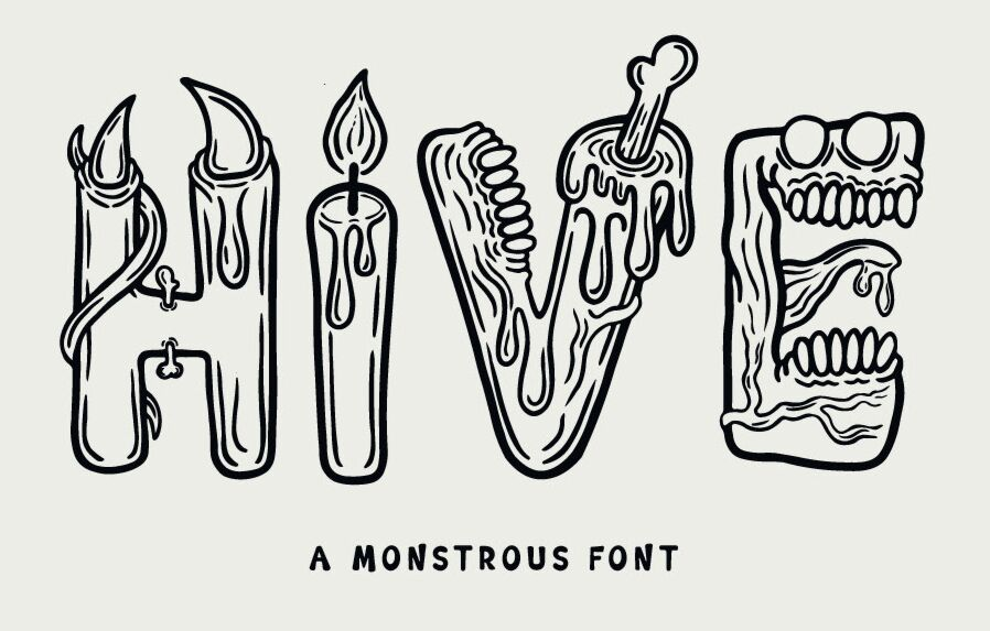 Hive Creative Font