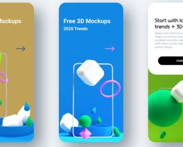 3D Models For App Design