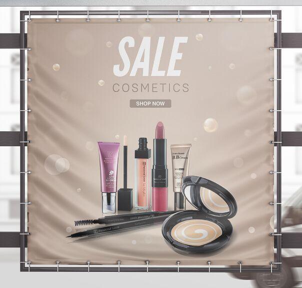 Cosmetics Social Sales Banner Template
