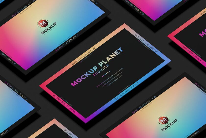 Isolate Business Card Template