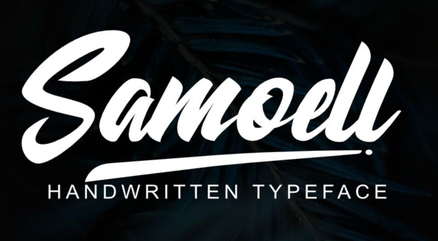 Samoell Free Font